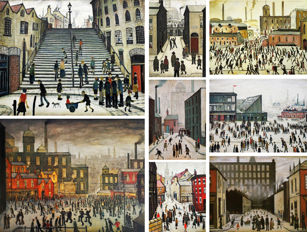 lowry canvas prints