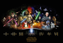 star wars canvas prints uk