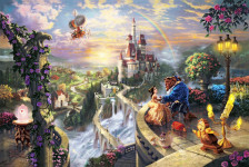 Beauty & The Beast - Thomas Kinkade