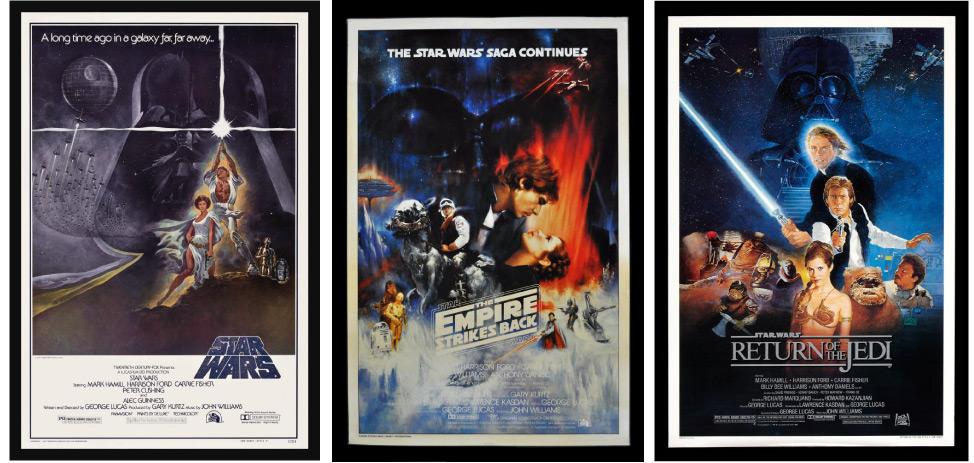 star wars canvas prints uk