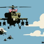 Helicopter - Banksy