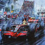 Lewis Hamilton at Monaco